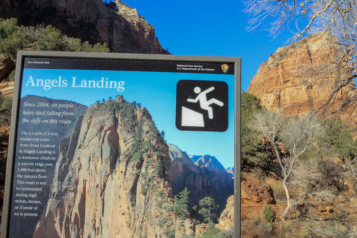Angels Landing Hike In Zion National Park Not For The Faint Of